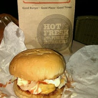 Photo taken at Crave Burger by Sheila S. on 10/18/2011