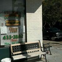 Photo taken at Freddie's Sandwiches by Paris D. on 9/29/2011