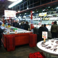 Photo taken at Wholey's Fish Market by Laura B. on 12/3/2011