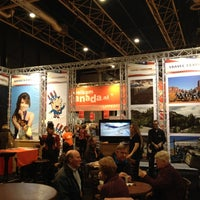 Photo taken at Vakantiebeurs by Mathias d. on 1/11/2012