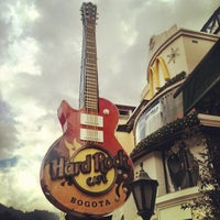 Photo taken at Hard Rock Cafe Bogota by Mirton P. on 11/23/2011