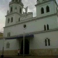 Photo taken at Iglesia san juan nepomuseno by DAVID M. on 4/4/2012