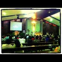 Photo taken at Gereja Santa Anna by Ardo 7. on 4/7/2012
