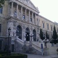 Photo taken at Biblioteca Nacional de España by Pepe M. on 10/29/2011