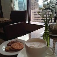 Photo taken at Westin Chosun Executive Lounge by Natalie S. on 6/5/2012