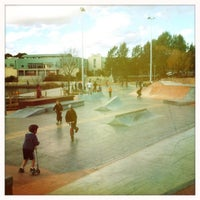 Photo taken at Belconnen Skate Park by Sconia on 8/7/2011
