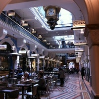 Photo taken at Queen Victoria Building (QVB) by Seviella on 7/30/2012