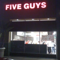 Photo taken at Five Guys by Larry R. on 4/26/2011