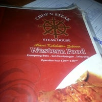 Photo taken at Chop N Steak by Rizuwan A. on 9/5/2012
