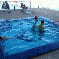 Photo taken at Bella Vista Swimming Pool by Fazrul S. on 4/22/2012