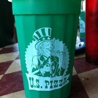 Photo taken at U.S. Pizza Co. by Misty B. on 4/3/2011