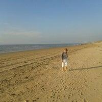 Photo taken at Strand Egmond Aan Zee by Herbert P. on 9/27/2011