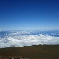 Photo taken at Pu'u 'ula'ula (Haleakalā Summit) by Shan on 1/19/2012
