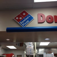 Photo taken at Domino's Pizza by Christie W. on 3/2/2012