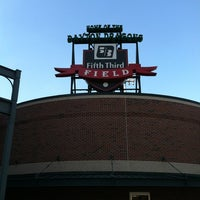 Photo taken at Fifth Third Field by Dan S. on 6/25/2012
