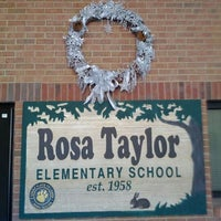 Photo taken at Rosa Taylor Elementary by Chris B. on 1/5/2012