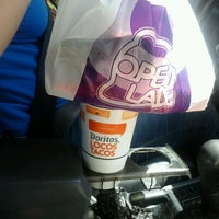 Photo taken at Taco Bell by Samantha C. on 4/27/2012