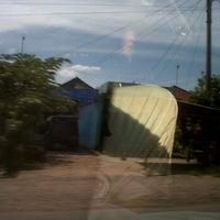 Photo taken at Kantor Kepala Desa Sembawa by Asfrika J. on 1/19/2012