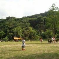 Photo taken at 도움산 산림문화 수련관 by SUNIN K. on 6/2/2012