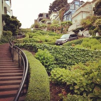 Photo taken at Lombard Street by Ros H. on 5/16/2012