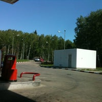 Photo taken at АЗС Лукойл by Olga G. on 5/21/2012