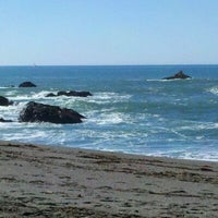 Photo taken at Portuguese Beach by Angel L. on 1/28/2012