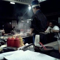 Photo taken at Wasabi Japanese Steakhouse by Eric W. on 2/12/2012