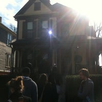 Photo taken at Martin Luther King Jr. Birth Home by Allison H. on 12/15/2011