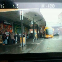 Photo taken at Florenc (bus) by Katerina M. on 1/2/2012