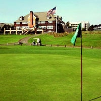 Photo taken at Gearhart Golf Links by Trevor S. on 8/12/2012