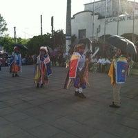 Photo taken at Alcaldía Municipal de Santiago Texacuango by King E. on 7/16/2012