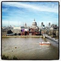 Photo taken at Restaurant - Tate Modern by Sebas A. on 9/6/2012
