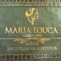 Photo taken at Maria Louca Casa de Pães by Luciana R. on 4/15/2012