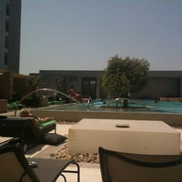 Photo taken at Aloft Abu Dhabi by Lisa R. on 9/2/2011