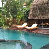 Photo taken at Wenara Bali Bungalow by Brendan H. on 4/5/2011