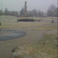 Photo taken at FSU Quad by Nick C. on 1/12/2012