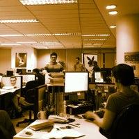 Photo taken at Playboy Brasil by Daniel M. on 9/21/2011