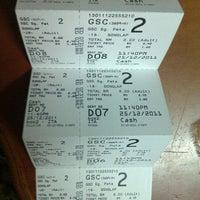 Photo taken at Golden Screen Cinemas (GSC) by Bieya on 12/25/2011