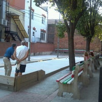 Photo taken at Little Italy Bocce Court by AK S. on 7/6/2012
