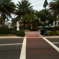 Photo taken at St. Armands Circle by Tony B. on 12/5/2011