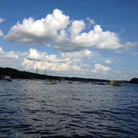 Photo taken at Sandbar At Lake Wylie by Nicole on 7/15/2012