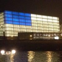 Photo taken at Palacio de Congresos Kursaal by Itziar G. on 2/19/2012