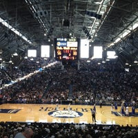 Photo taken at Hinkle Fieldhouse by John W. on 2/18/2012