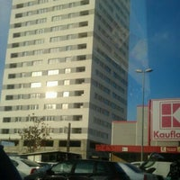 Photo taken at Kaufland by Dragos M. on 1/14/2012