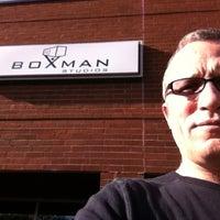 Photo taken at Boxman Studios by Jim M. on 1/27/2012