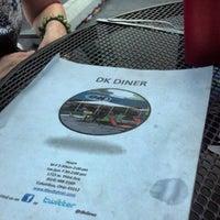 Photo taken at DK Diner by Melissa W. on 7/28/2012