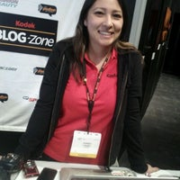 Photo taken at Kodak Booth at CES by NoniShaney @missversatile on 1/11/2012