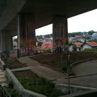 Photo taken at Cikapayang mural space by Wijaya T. on 2/6/2012