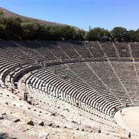 Photo taken at Epidaurus Ancient Theatre by Lamberto B. on 8/22/2012