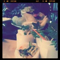 Photo taken at Osha Thai Restaurant & Bar by Samantha K. on 5/10/2012